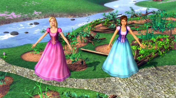Барби и Хрустальный замок-2