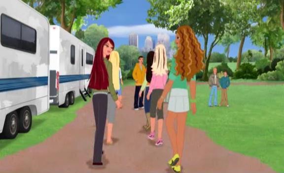 Барби и подружки в Голливуде-2