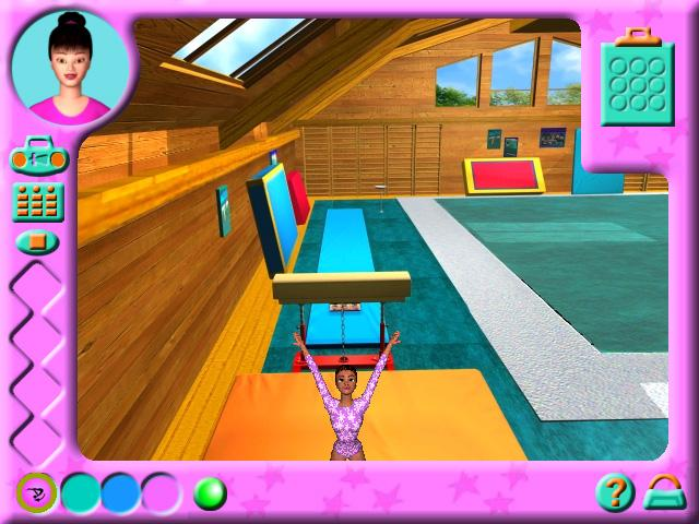 Барби. Спортивная гимнастика