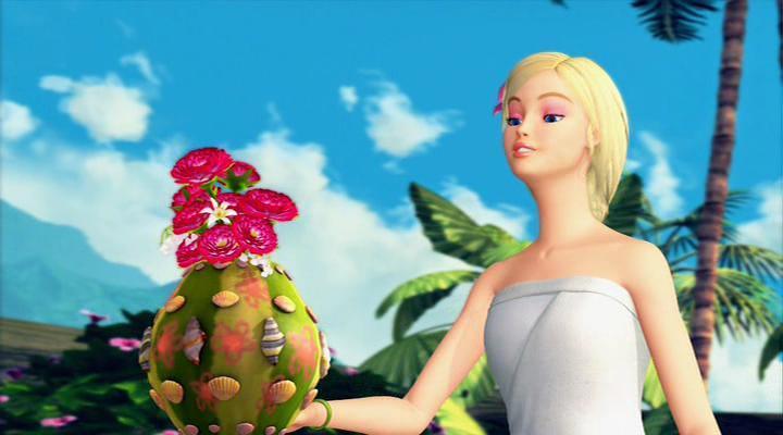 Барби в роли Принцессы Острова-1