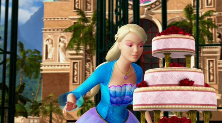 Барби в роли Принцессы Острова-3