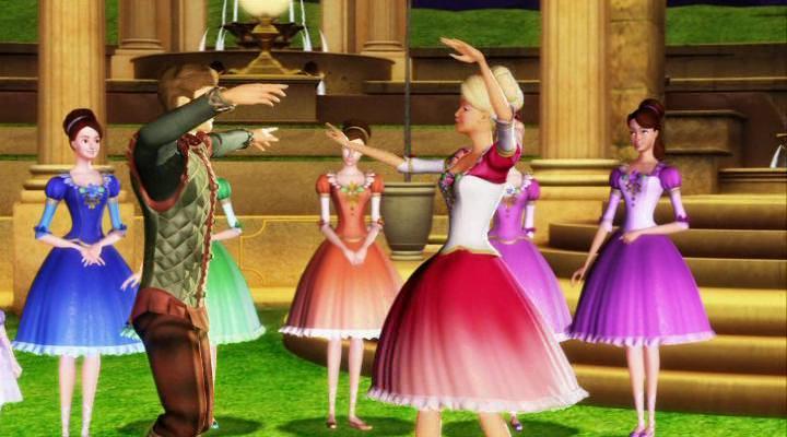 Барби и 12 танцующих принцесс_3