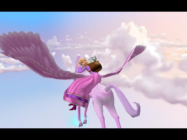 Барби и волшебство Пегаса