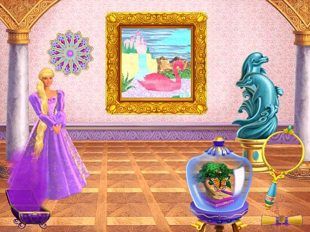 Игру «Барби. Принцесса Рапунцель» скачать бесплатно и ...
