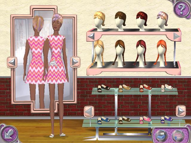 Барби. Показ мод
