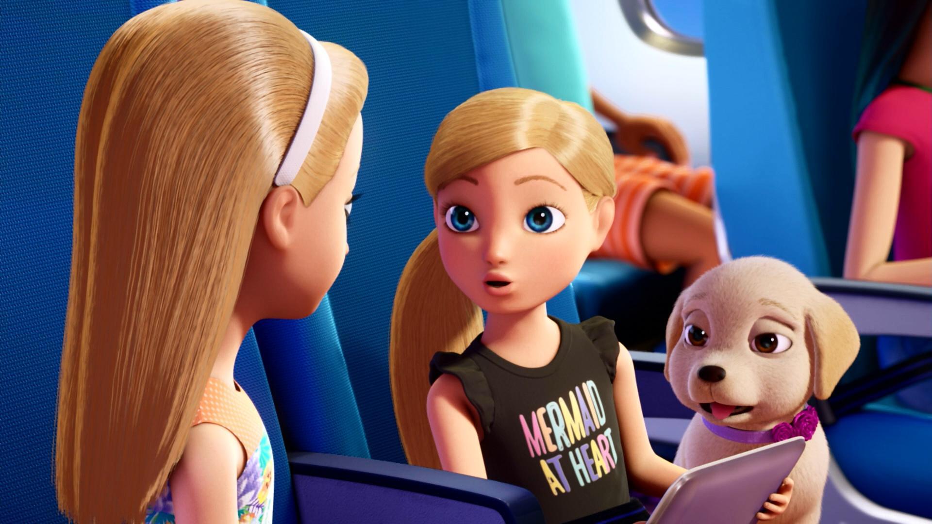 Барби и сёстры в поисках щенков-3