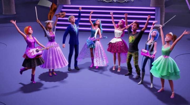 Барби Рок-принцесса-1