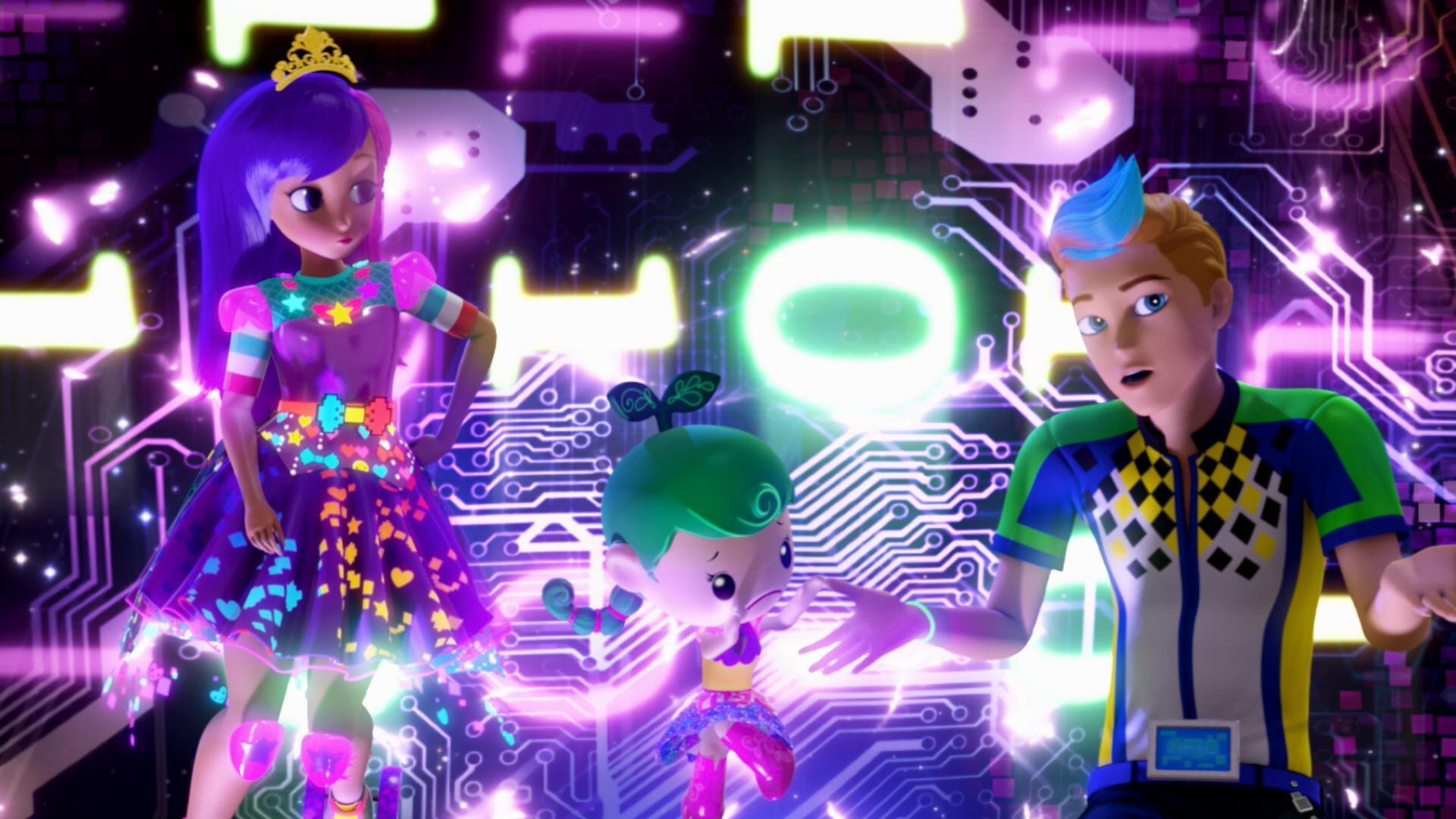 Барби Виртуальный мир-3