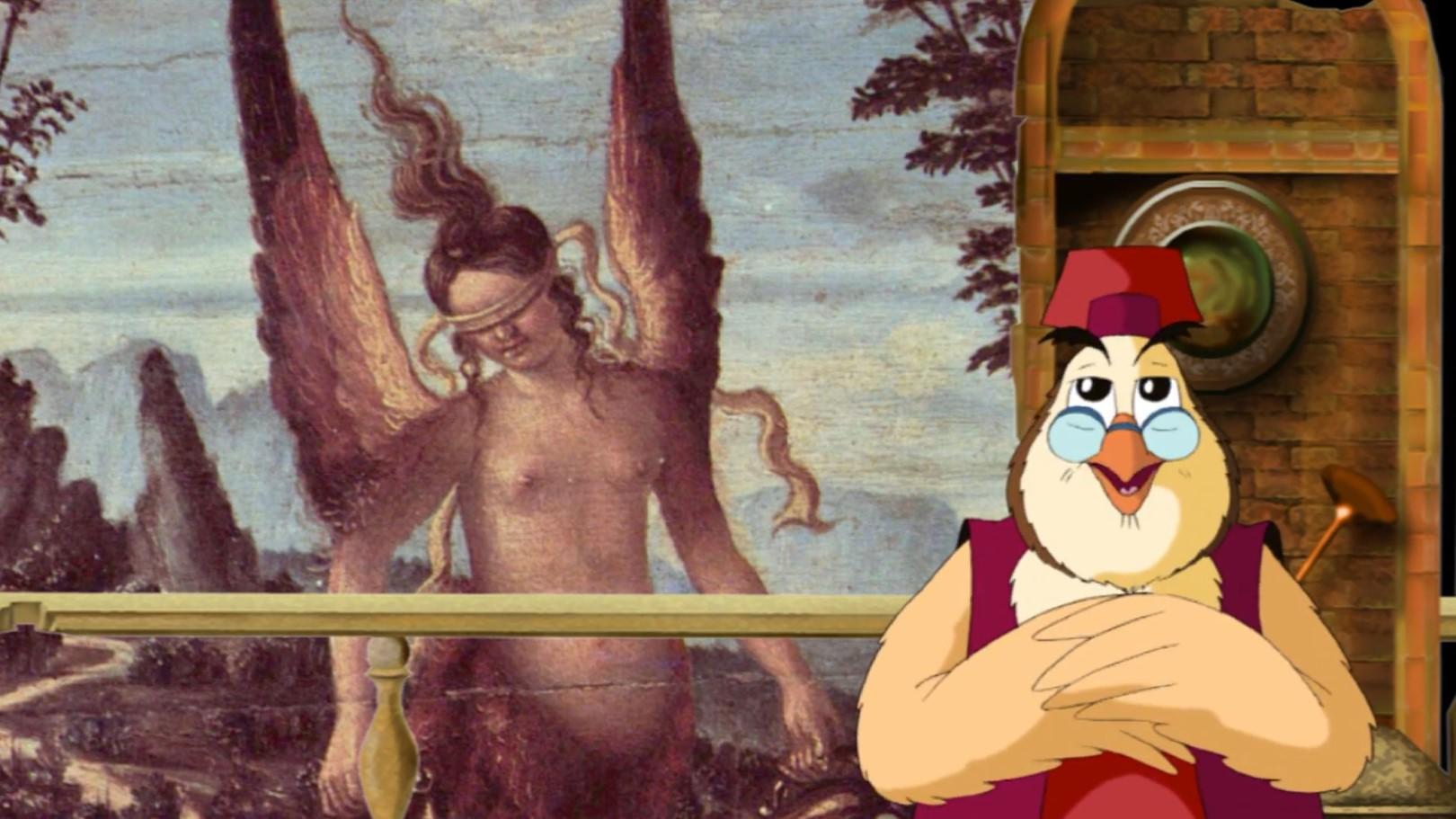 Сказки картинной галереи тётушки Совы
