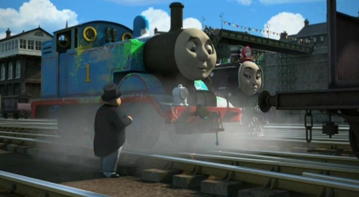 Томас и его друзья. Большая гонка