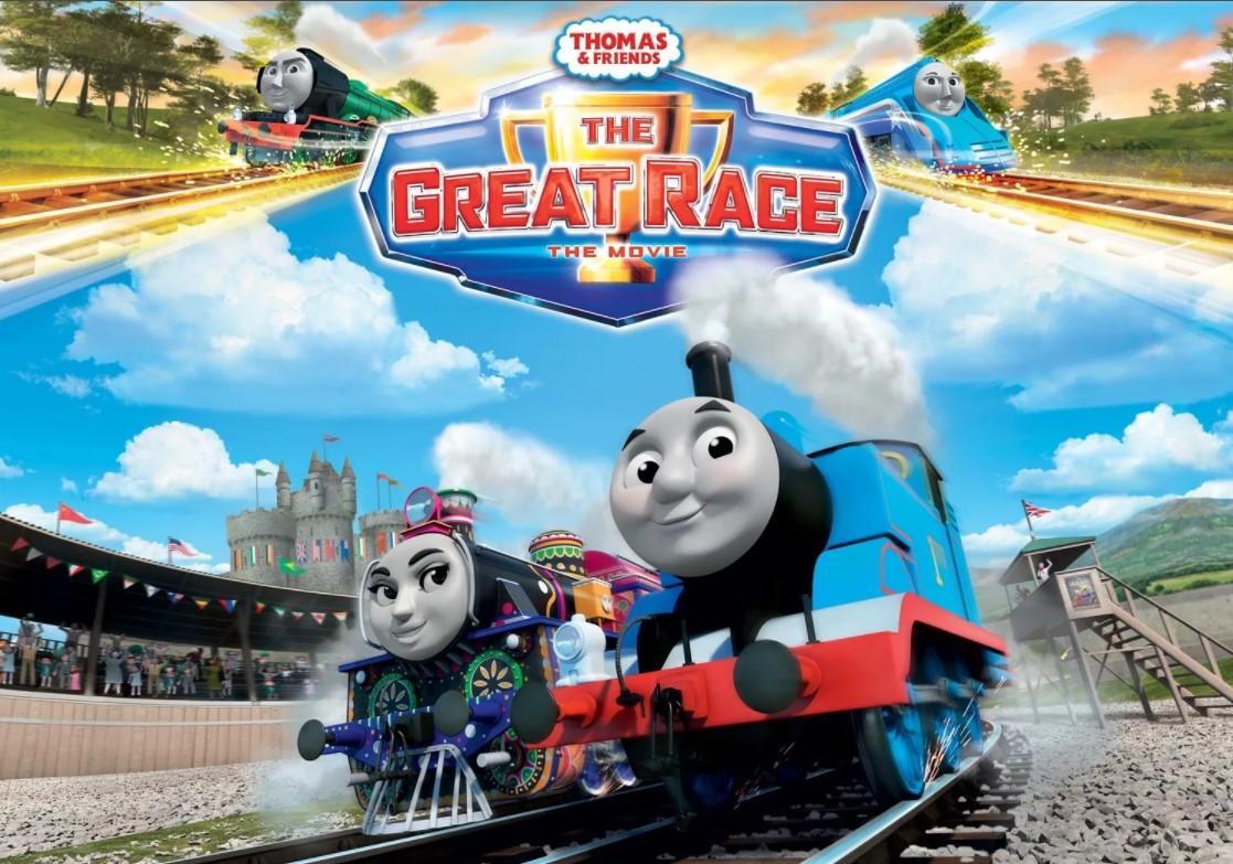 """<span class=""""title"""">Томас и его друзья: Большая гонка</span>"""