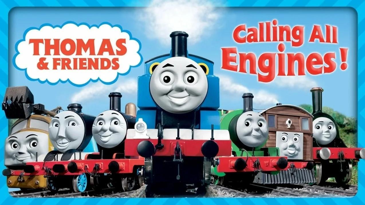 "<span class=""title"">Томас и его друзья: На всех парах!</span>"