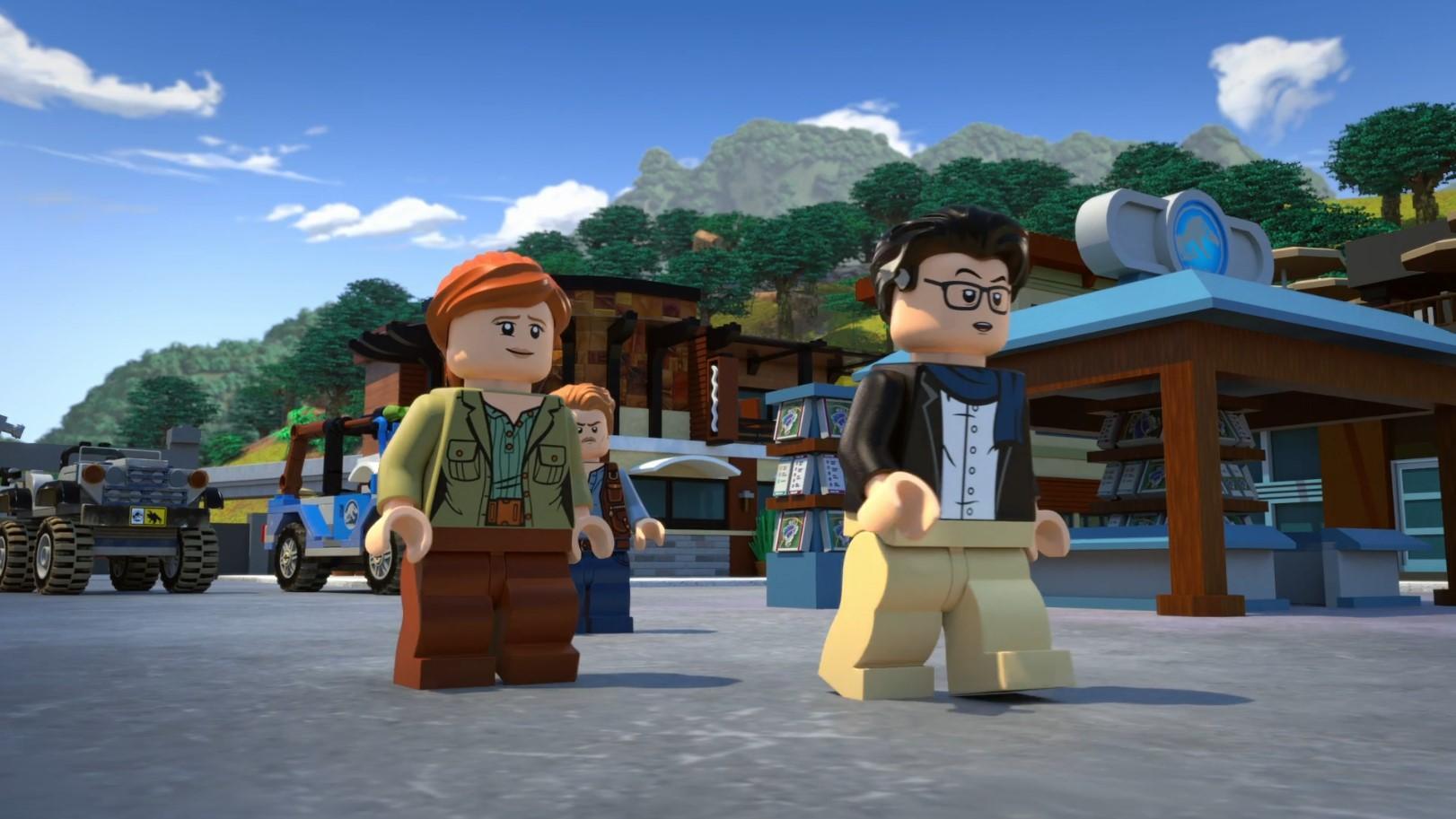 LEGO Мир Юрского периода. Легенда острова Нублар