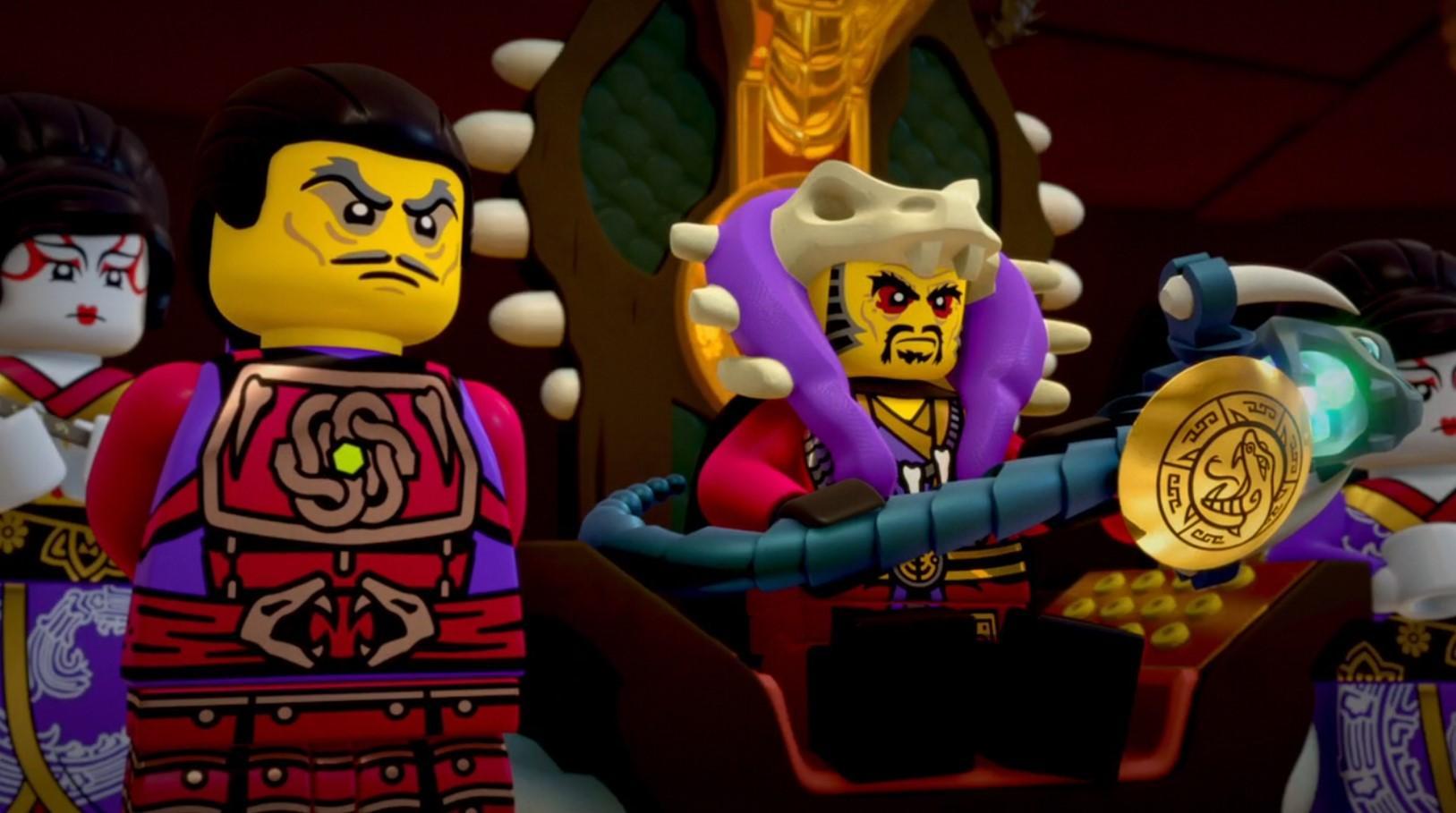 LEGO Ниндзяго. Мастера кружитцу