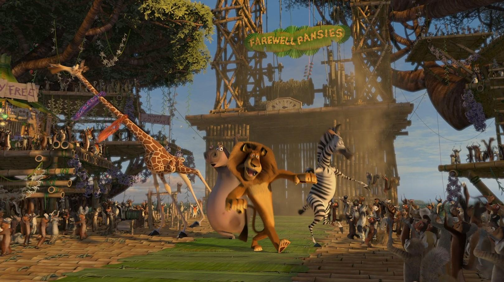 Мадагаскар-2 2008