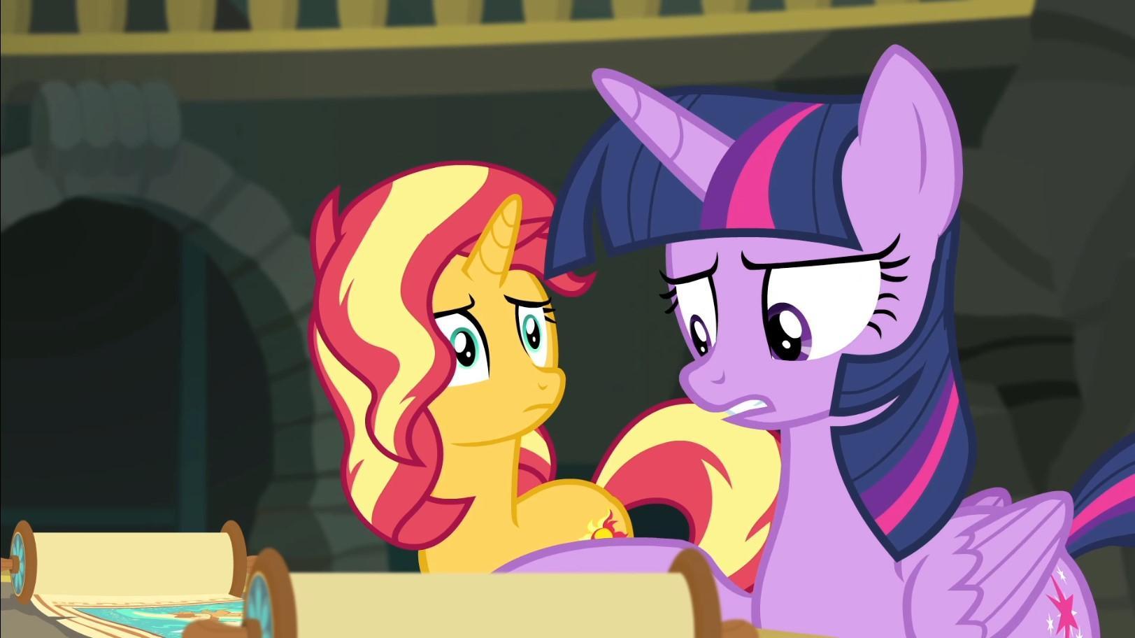 Мой маленький пони. Девочки из Эквестрии-Забытая дружба