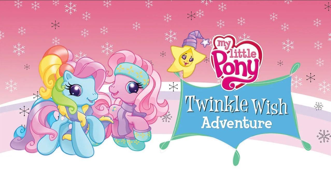 "<span class=""title"">Мой маленький пони: Приключение Твинкл Виш</span>"