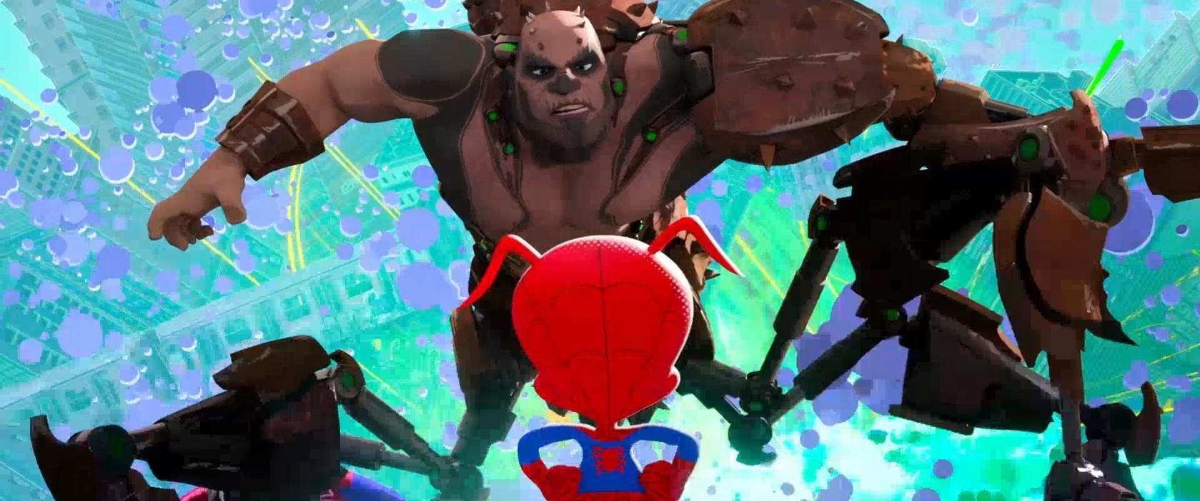 Человек-паук. Через вселенные