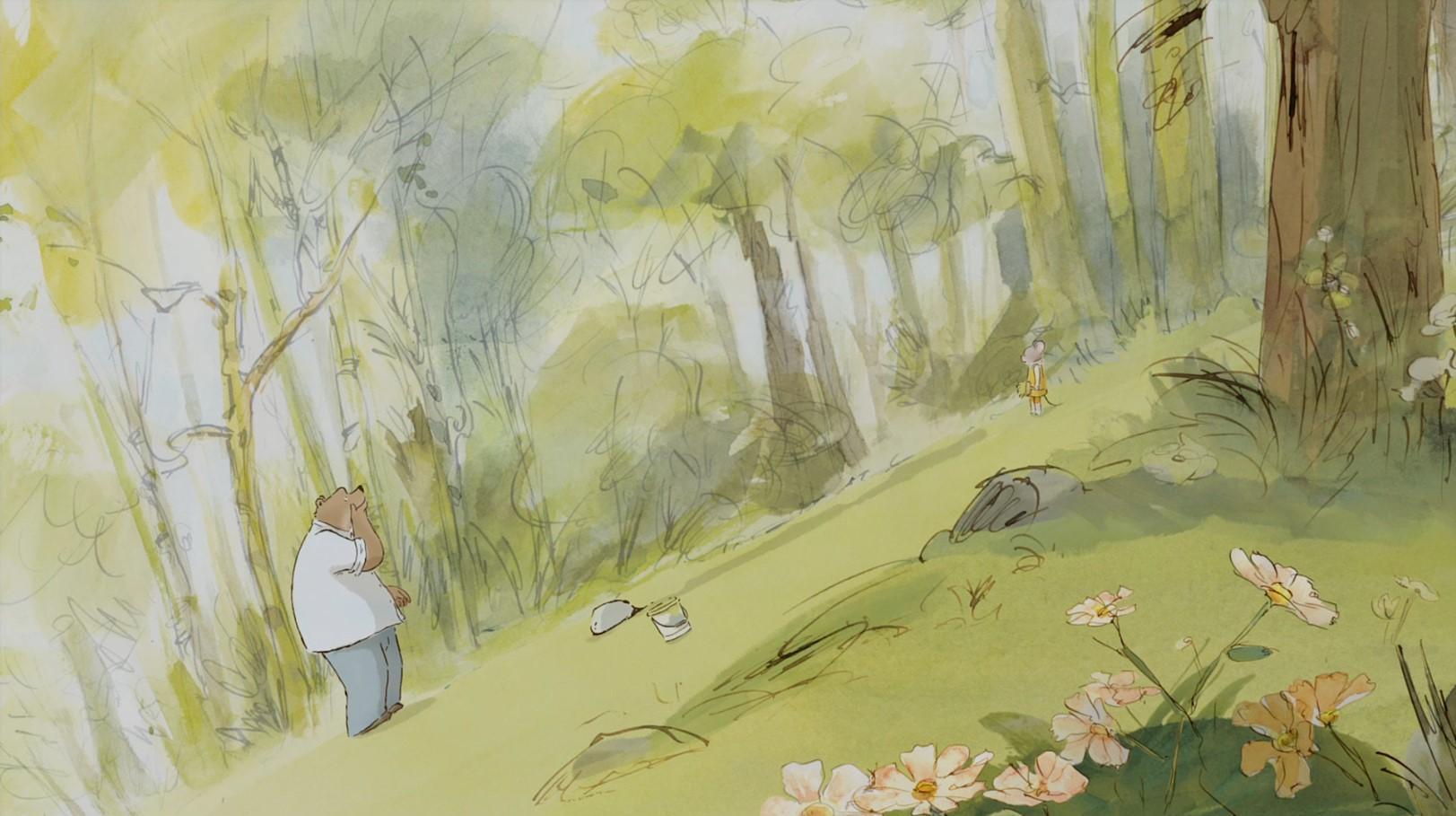 Эрнест и Селестина. Приключения мышки и медведя