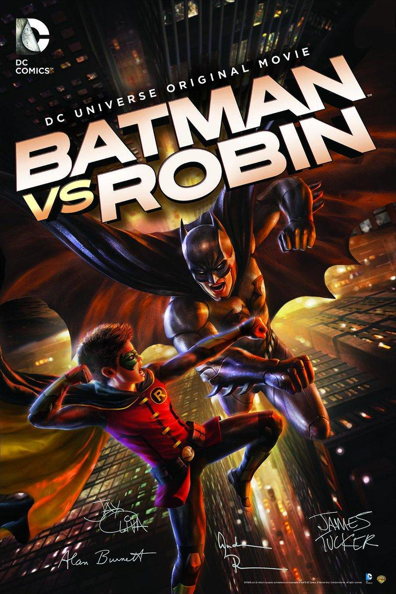 Бэтмен против Робина