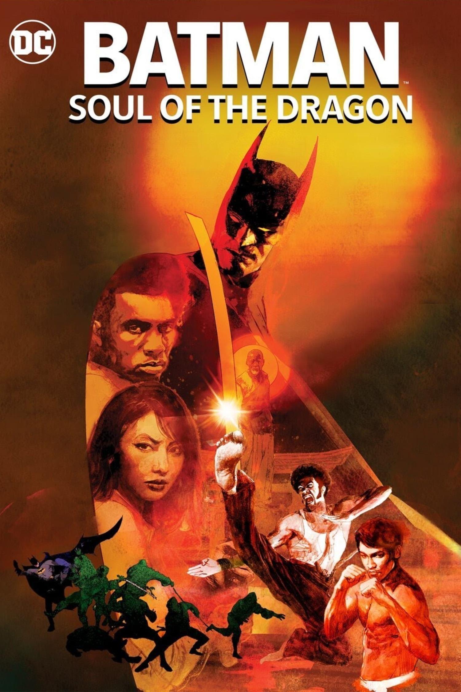 Бэтмен: Душа дракона