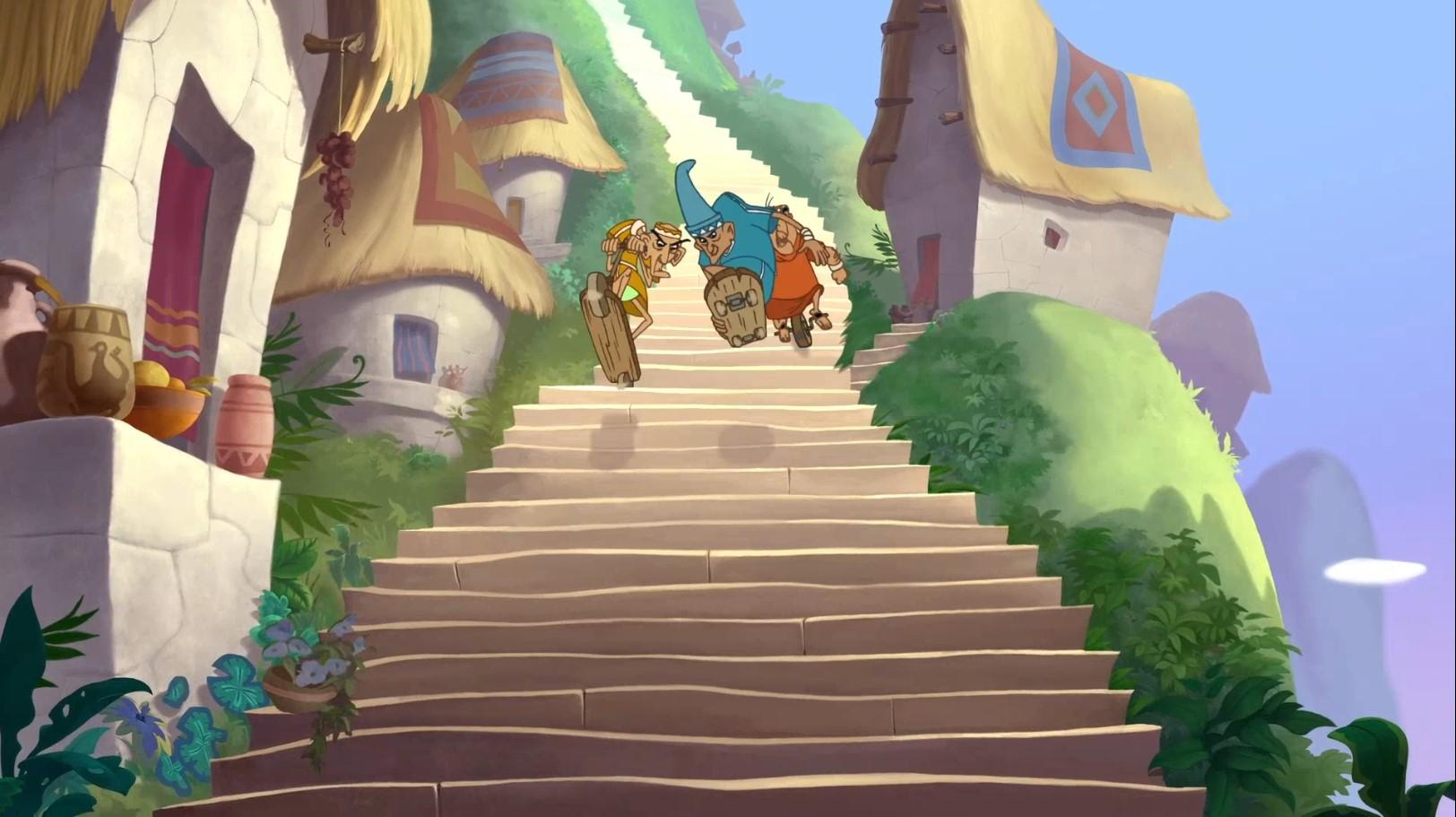 Похождения императора 2. Приключения Кронка