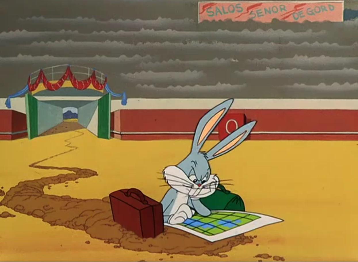 Кролик Багз или Дорожный бегун